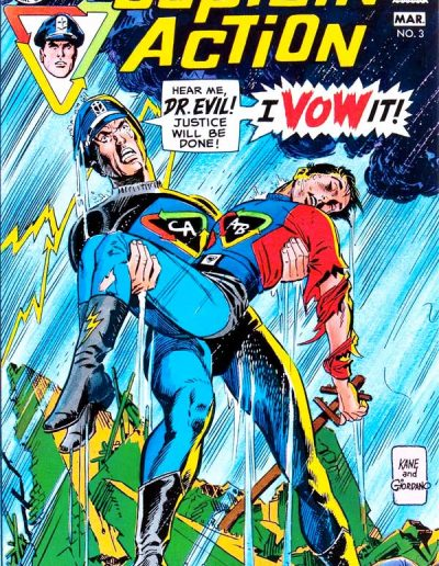 Captain Action #3 - February 1969