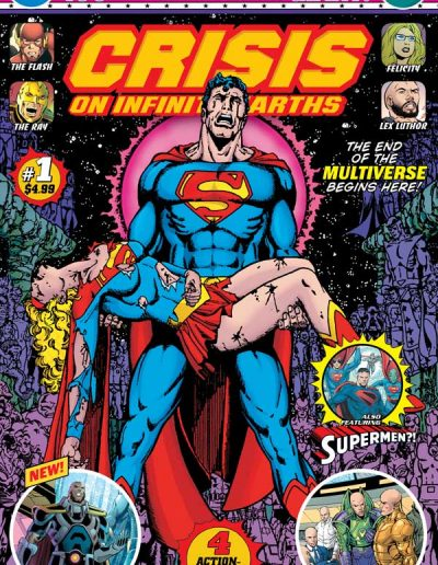 Crisis on Infinite Earths Giant (Walmart) #1 - January 2020