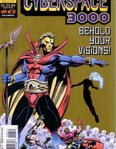 Cyberspace 3000 #6 (UK) - December 1993