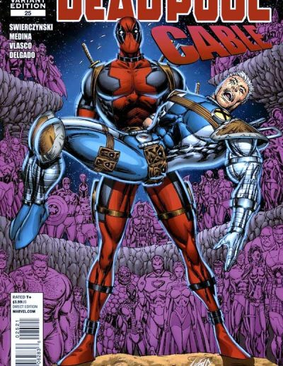 "Deadpool & Cable #25 (Liefield Variant - ""Look Ma! No Hands!"") - June 2010"
