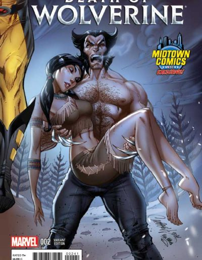Death of Wolverine #2 (J Scott Campbell Midtown Exclusive) - November 2014