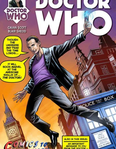 Doctor Who: The 9th Doctor #1 (Astonish Exclusive) - April 2015