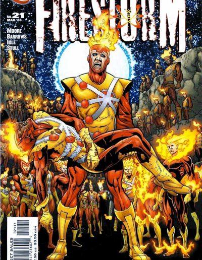 Firestorm #21 - March 2006