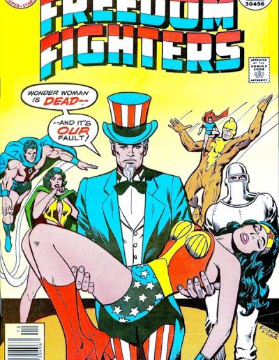 Freedom Fighters #5 - December 1976