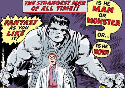 Incredible Hulk #1 Homage Covers