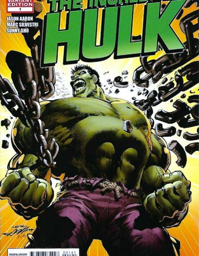 Incredible Hulk (Vol 3) #1 (Neal Adams 1:25 Variant) - December 2011
