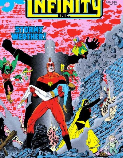 Infinity Inc #20 - November 1985