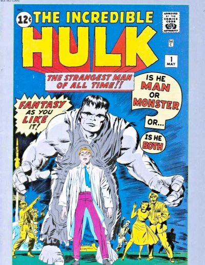 Marvel Milestone Edition: The Incredible Hulk #1 - March 1991