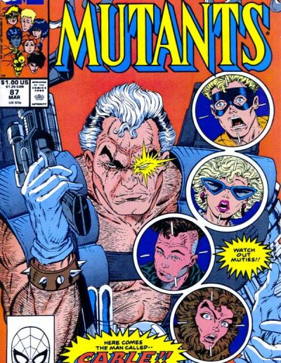 New Mutants #87 (1st Printing) - March 1990