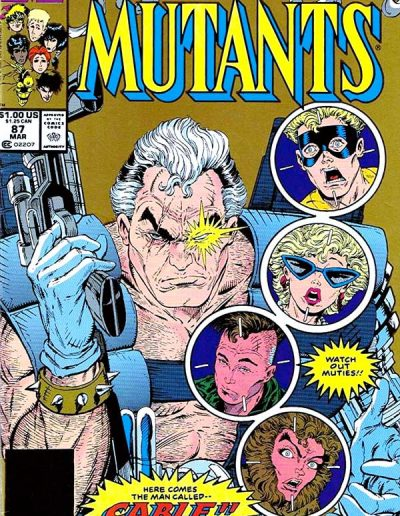 New Mutants #87 (2nd Printing) - March 1990