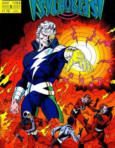 Psychoblast #5 - March 1988