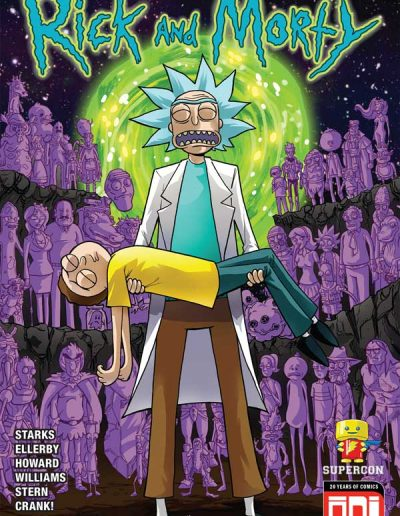 Rick and Morty #44 (Supercon Exclusive) - November 2018