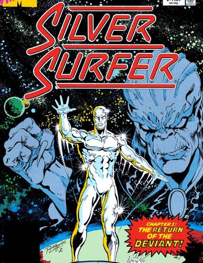 Silver Surfer (Vol 3) Annual #2 - August 1989