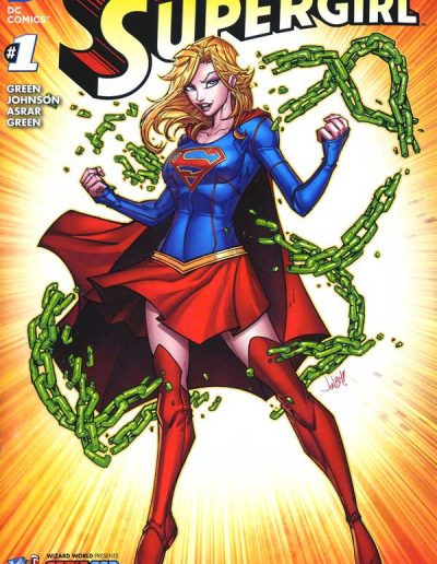 Supergirl (Vol 6) #1 (Comic Con Box Color Variant) - Released November 2015