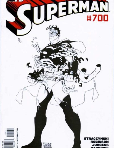 Superman #700 (Sketch Variant) - August 2010