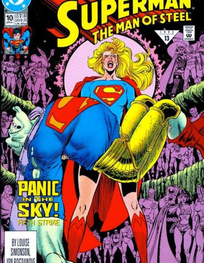 Superman: The Man of Steel #10 - April 1992