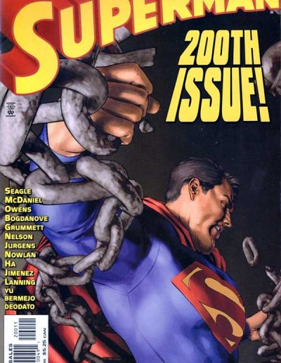 Superman (Vol 2) #200 - February 2004