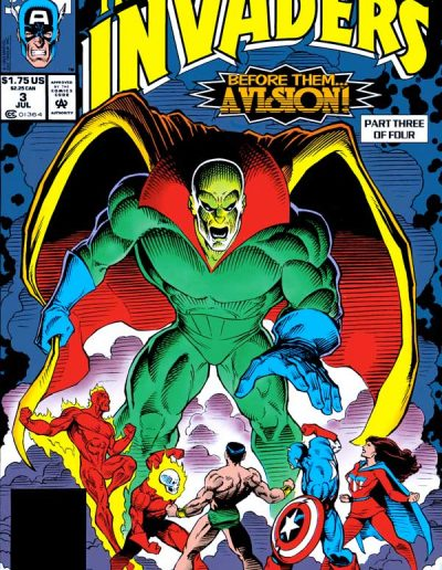 The Invaders (Vol 2) #3 - July 1993