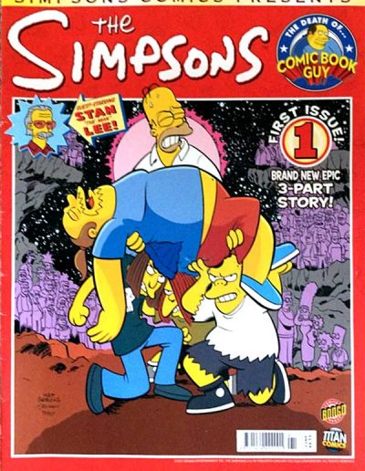 Simpsons Comics Presents: The Death of Comic Book Guy (UK) - July 2011