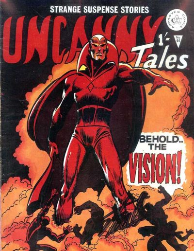 Uncanny Tales #64 (UK Edition) - Estimated Date Mid-1978