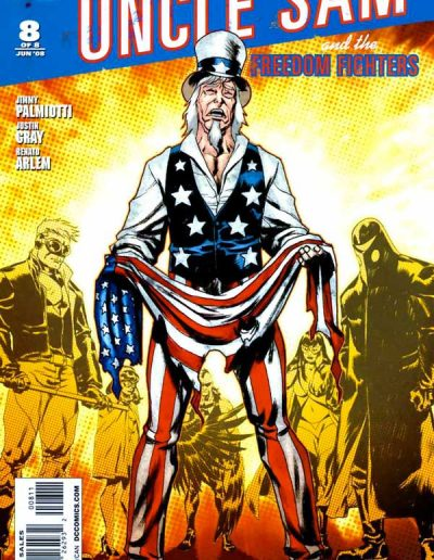 Uncle Sam & the Freedom Fighters (Vol 2) #8 - February 2008