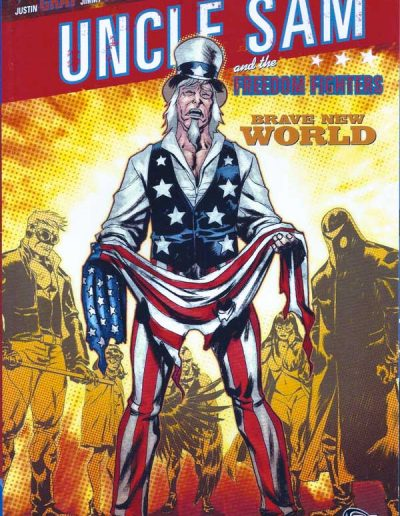 Uncle Sam & the Freedom Fighters (Vol 1) TPB - September 2008