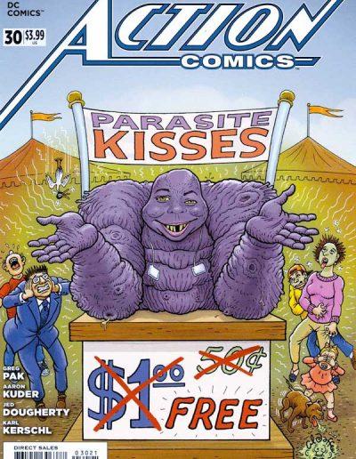 Action Comics (Vol 2) #30 Mad Magazine Variant - June 2014