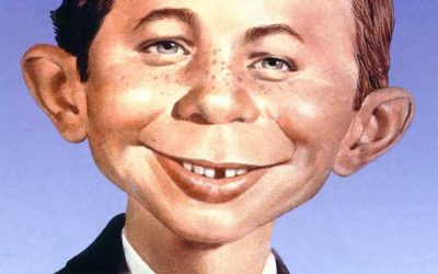 "DC Comics New 52 ""Alfred E. Neuman"" Mad Magazine Variant Covers (2014)"
