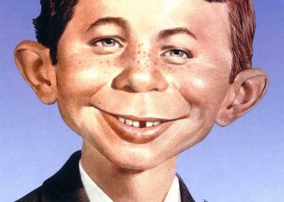 """DC Comics New 52 """"Alfred E. Neuman"""" Mad Magazine Variant Covers (2014)"""