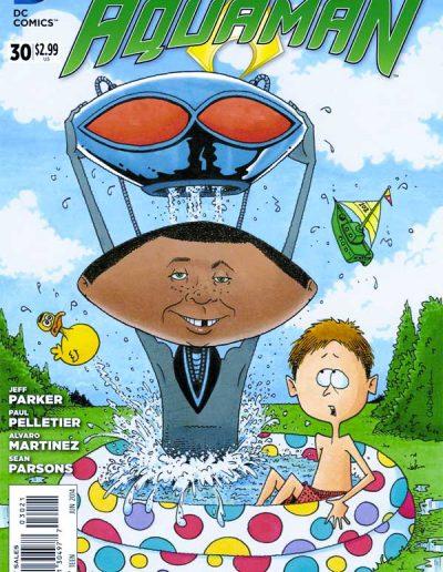 Aquaman (Vol 7) #30 Mad Magazine Variant - June 014