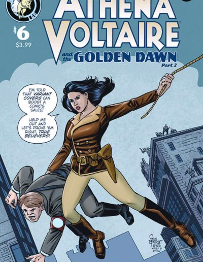 Athena Voltaire #6 (Jason Millet Variant) - July 2018