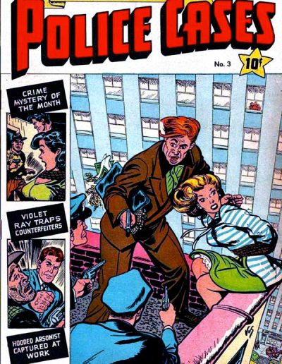 Authentic Police Cases #3 - June 1948