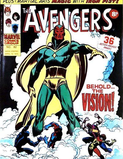 Avengers (UK) #82 - April 1975