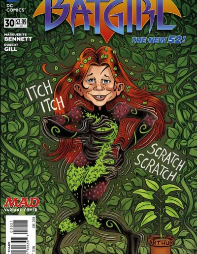 Batgirl (Vol 4) #30 Mad Magazine Variant - June 2014