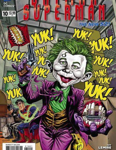 Batman/Superman #10 Mad Magazine Variant - July 2014
