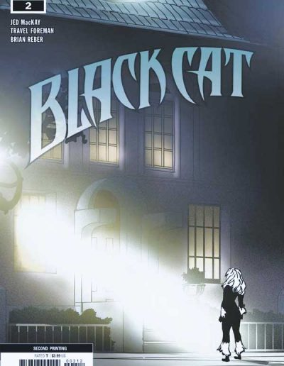 Black Cat #2 (2nd Printing) - September 2018