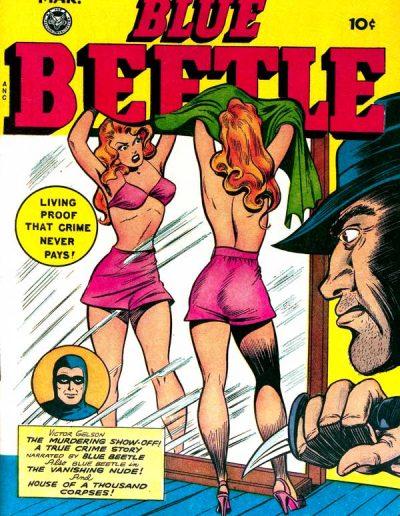 Blue Beetle #54 - March 1948