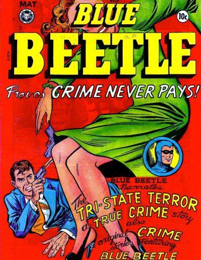 Blue Beetle #56 - May 1948