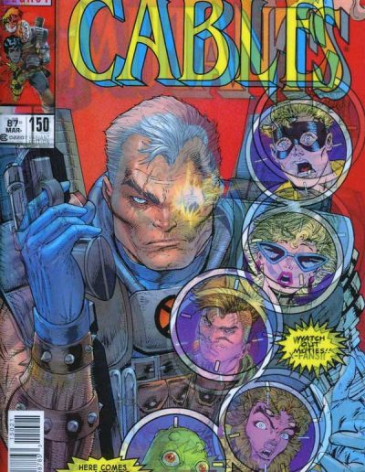 Cable (Vol 3) #150 (Lenticular Variant) - December 2017