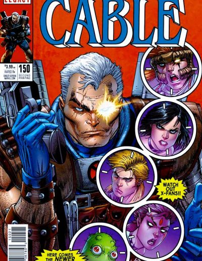 Cable (Vol 3) #150 (2nd Printing) - December 2017