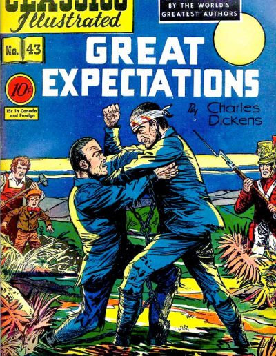 Classics Illustrated #43 Great Expectations - November 1947
