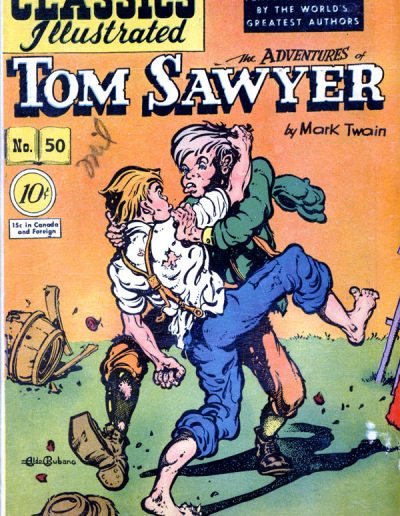 Classics Illustrated #10 The Adventures of Tom Sawyer - August 1948