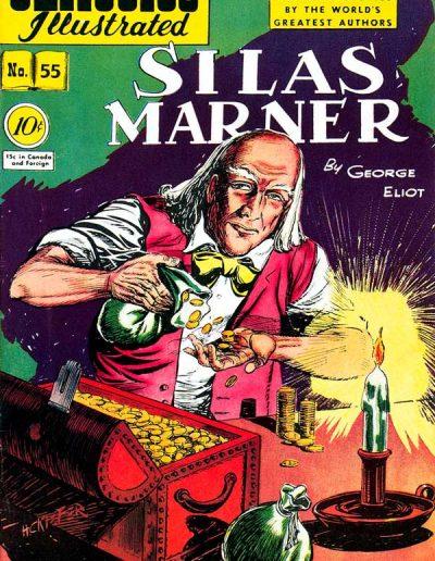 Classics Illustrated #55 Silas Marner - January 1949