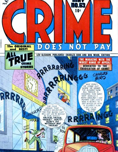 Crime Does Not Pay #63 - May 1948