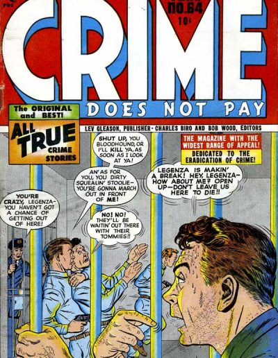 Crime Does Not Pay #65 - June 1948