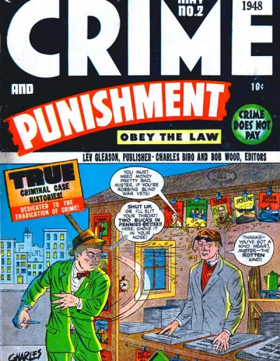 Crime and Punishment #2 - May 1948