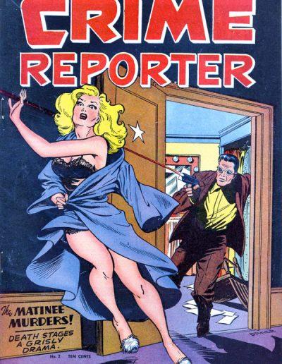 Crime Reporter #2 - October 1948