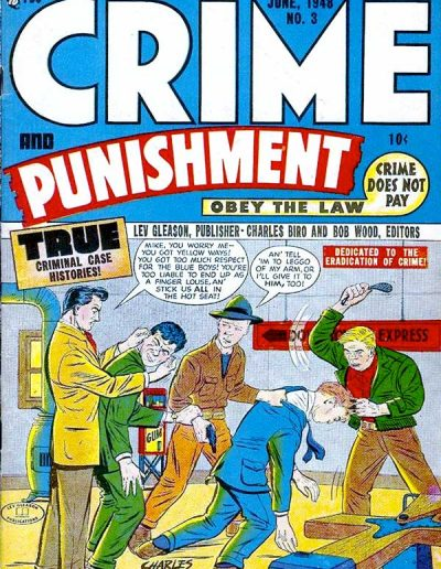 Crime and Punishment #3 - June 1948