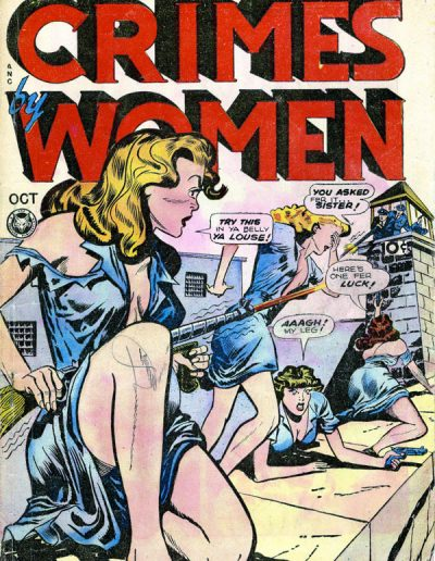 Crimes by Women #3 - October 1948