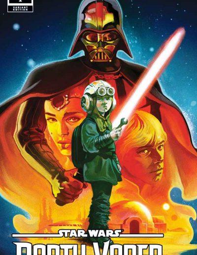 Star Wars: Darth Vader #1 (Del Mundo Incentive Variant) - April 2020